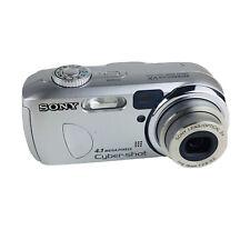 Sony Cyber-shot DSC-P73 4.1MP Digital Camera - Silver