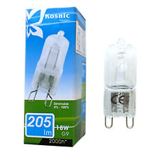 10 x G9 18w=25w Kosnic DIMMABLE ECO Halogen bulbs 240v capsule clear Watt lamp
