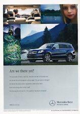 2013 Mercedes Benz GL550 GL-Class Original Advertisement Print Art Car Ad J888