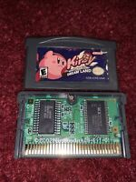 Kirby: Nightmare in Dream Land AUTHENTIC Nintendo Game Boy Advance*TESTED-CLEAN*