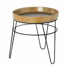 Petite Table ronde avec plateau en faïence 39 cm