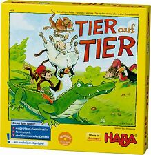 Game Stacking Educational Child's Play Animal on HABA 4478 From 4 Years