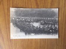 CARTOLINA ROI ET REINE D' ITALIE A PARIS VIAGGIATA DEL 1903 SUBALPINA AA