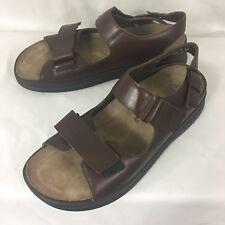 Mephisto Mobils Mens Leather Sandals 11.5 US 45 EU