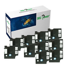 10 Perfectprint Compatible Label Cassette for DYMO 40913 Label Manager 210d 260p