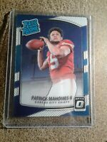2017 Patrick Mahomes Rated Rookie OPTIC Panini Donruss RC Card #177