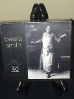 Bessie Smith Gold Collection 40 Classic Performances 2 X CD Box New Sealed OOP