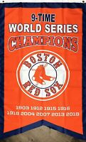 Boston Red Sox World Series Championship Flag 3x5 ft Sports Banner Man-Cave New