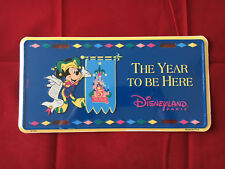 Disney License Plate- The Year To Be Here