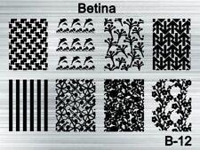 Plaque stamping BETINA B12