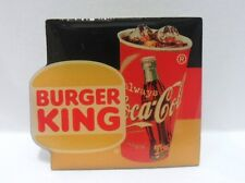 Coca-Cola - BURGER KING/COCA-COLA - PINS attacco con bottone a innesto
