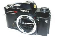 Konica AUTOFLEX TC SLR film camera   35MM   WORKING   Tested   s/n 688673
