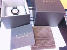 NICE Ladies Gucci Watch Swiss Made U-Play 129.4. EXTRA BLUE OSTRICH BAND/BEZEL!