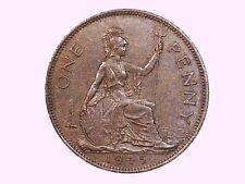 1945 One Penny Geo Vi  Great Britain UNC