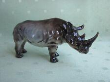 Schöne Hutschenreuther Figur als Nashorn