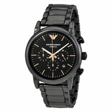 Emporio Armani Luigi Chronograph Black Dial Men Watch AR1509