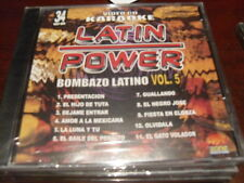 LATIN POWER KARAOKE VCD DVD VCLP-034 BOMBAZO LATINO VOL 5 SEALED