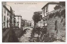 La Carrera de Darro Granada Spain postcard