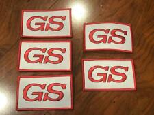 """BUICK GS GRAN SPORT """"GS"""" GSX JACKET SHIRT HAT PATCH LOT OF 5 PIECES NEW RED WHIT"""