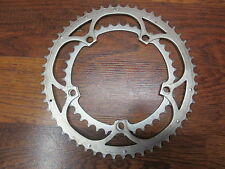 CAMPAGNOLO RECORD ESP 10 SPEED 5 BOLT 135 BCD 53/39T CHAIN RING - BRONZE