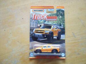 matchbox trucks 2016 chevy colorado extreme