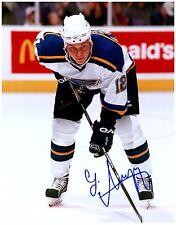 St. Louis Blues LADISLAV NAGY Signed Autographed 8x10 Pic I