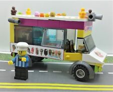 LEGO CUSTOM Ice Cream Truck. minifig & MORE. READY TO PLAY!