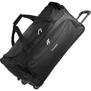 Travelite Garda XL Reisetasche Sporttasche mit Rollen 72 cm (schwarz)
