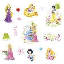 Cartoon Fairy Princess Wall Stickers For Children Kids Bedroom Wall Decal Art
