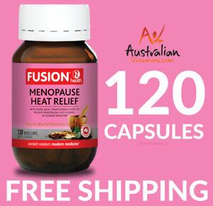 Fusion Menopause Free Heat Relief 120 Capsules