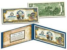 NEBRASKA Statehood $2 Two-Dollar Colorized U.S. Bill NE State *Legal Tender*
