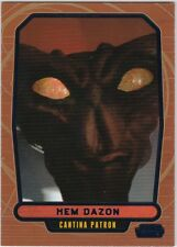 STAR WARS GALACTIC FILES SERIES 2 BLUE PARALLEL #469 HEM DAZON 243/350