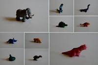Schleich 10011-10020 Minis Dinosaurier Dino Farb Varianten Raritäten zur Auswahl