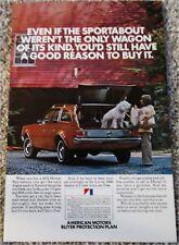 1972 AMC Hornet Station Wagon car ad