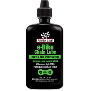 Finish Line eBike Chain Lube, 4oz Squeeze Bottle