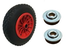 "14"" REPLACEMENT PUNCTURE PROOF WHEELBARROW WHEEL 3.50-4.00/8 + 12MM BEARINGS"