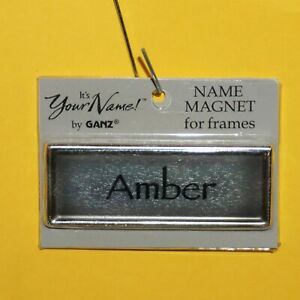 GANZ It's Your Name Magnets for Frames Choose Name Personalized Gifts Xmas Tags