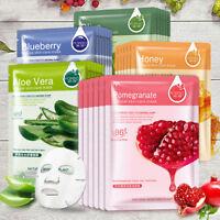 1x Facial Mask Sheet Plant Deep Moisture Face Mask Pack Essence Hydrating Makeup