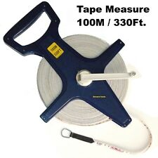 TAPE MEASURE FIBERGLASS 100 Meter - WIND UP - NEW.