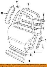Oldsmobile GM OEM Achieva Exterior-Rear-Applique Window Trim Right 22603188