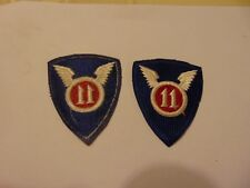MILITARY PATCH SEW ON COLORED OLDER WW2 ERA 11TH AIRBORNE DIVISION