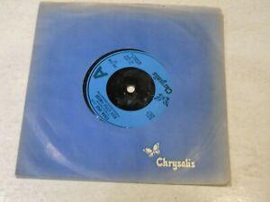 """STIFF LITTLE FINGERS - Straw Dogs - 1979 UK blue  moulded 7"""" vinyl single"""