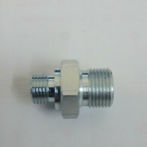 UNF Male x BSPP Male Stud Adaptor for Air Oil , Hydraulics etc High pressure