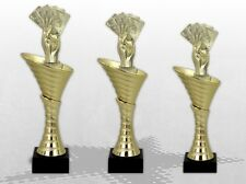 3er Pokalserie OLYMP POKER SKAT Pokale mit Gravur günstig preiswert kaufen