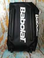 Big Babolat Team 24 Tennis Racquet Gear Travel Bag w/ Wheels