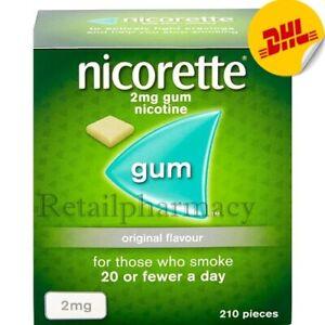 3 Packs of Nicorette Original 2Mg Gum 210's—New Packing - Expiry - July 2023