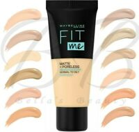 MAYBELLINE Fit Me! Matte + Poreless Normal to Oily Skin Foundation 30ml *NEW*