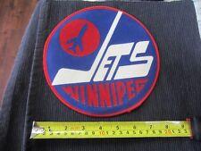 "1973 Winnipeg Jets Original 8"" patch crest NHL"