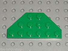 LEGO green Plate ref 2419 / Set 3804 5599 7186 9747 9719 5600 4502 ...