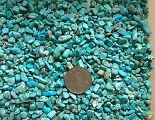 Natural turquoise loose stone crushed raw ore broken stones irregular shapes